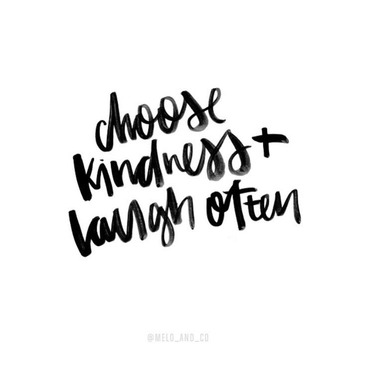 Choose Kindness And Laugh Often The Red Fairy Project
