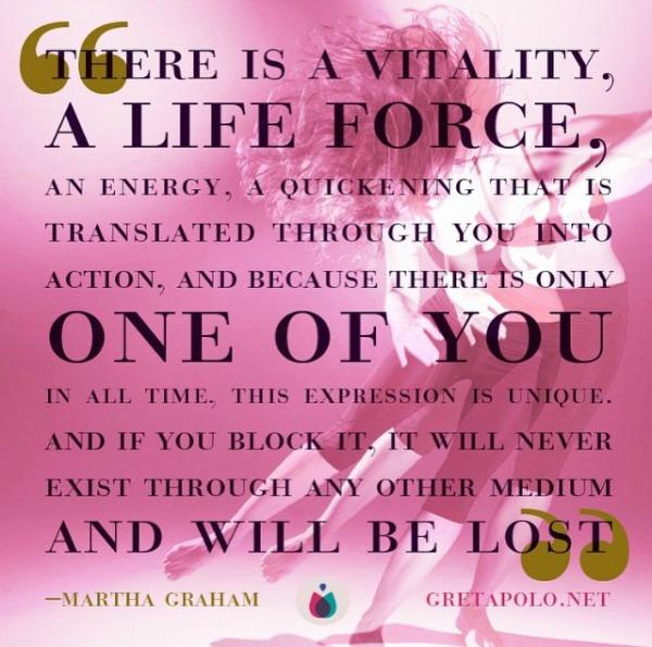 purpose, martha graham, quote, inspiring quote, inspiration, guidance, wisdom,