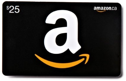 Amazon gift card giveaway