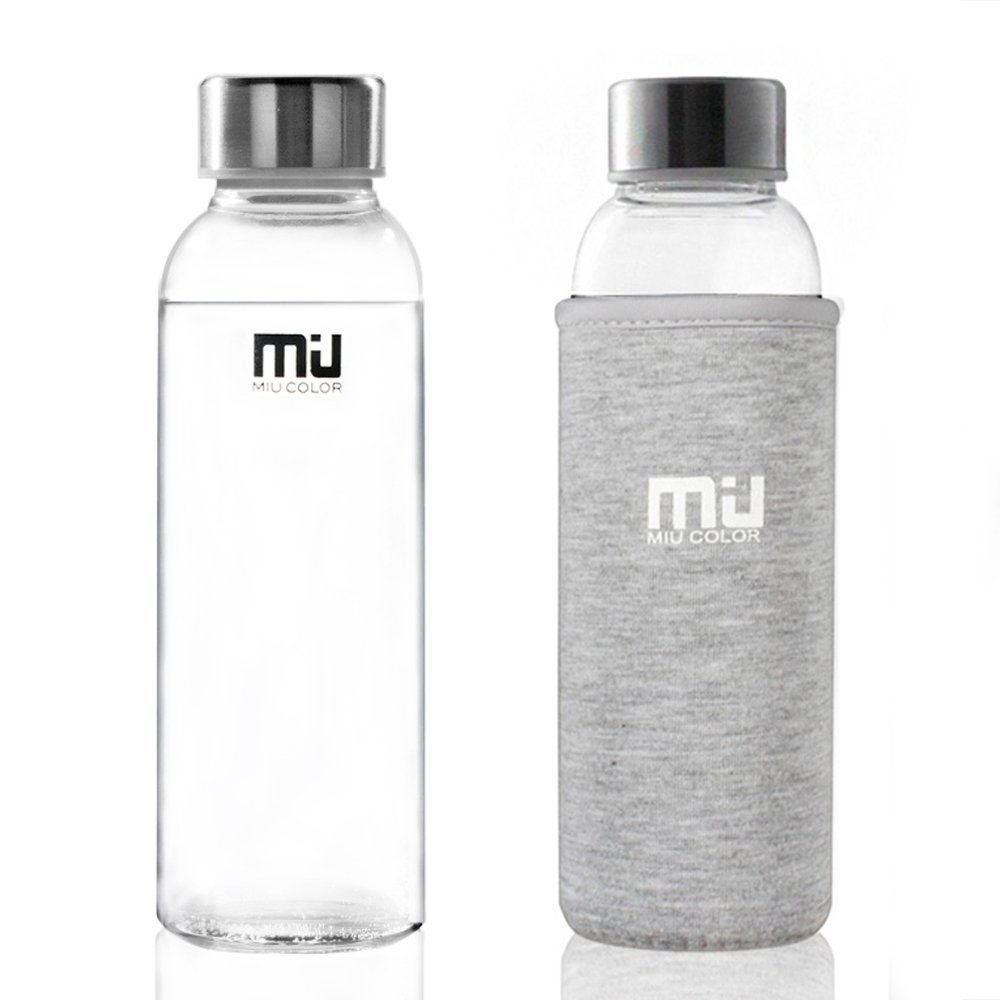 Miu Water Glass Bottle With Nylon Sleeve The Red Fairy