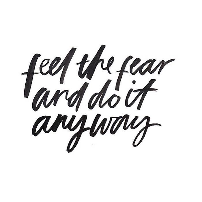 Feel The Fear And Do It Anyway  >> Feel The Fear And Do It Anyway The Red Fairy Project