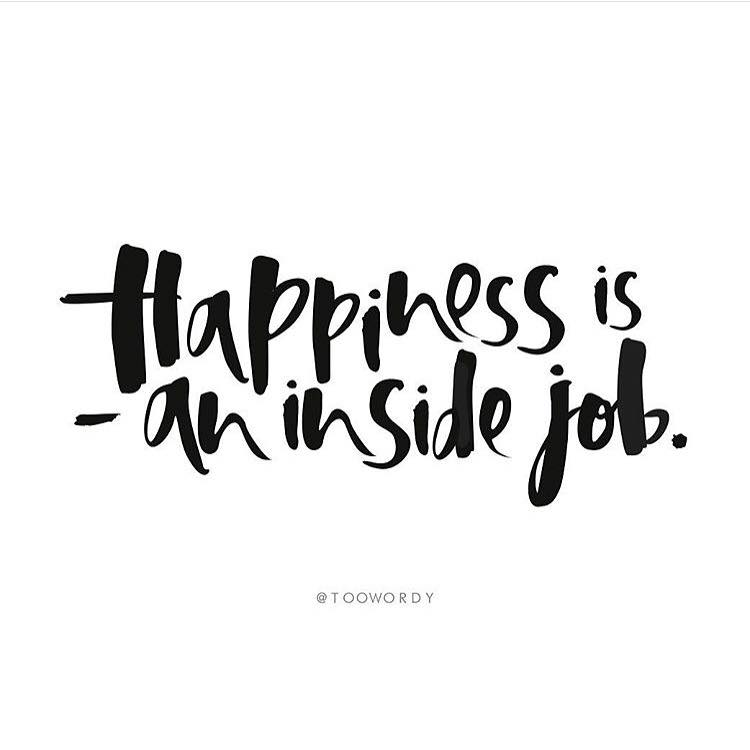 Attractive Happiness Is An Inside Job