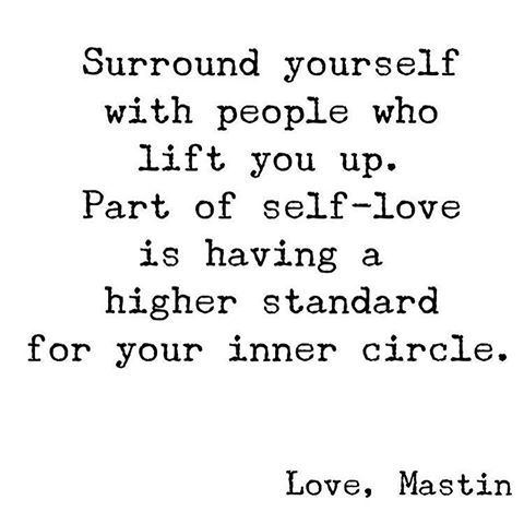 Surround Yourself With People That Lift You Up The Red Fairy Project