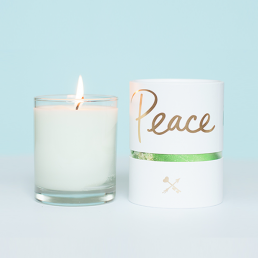Peace is power candle PITTA DOSHA Danielle Laporte