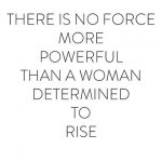 Are you determined to rise?