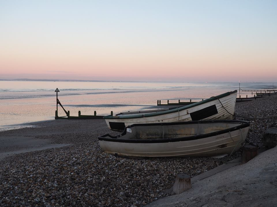 East Wittering, England, travel, europe, wanderlust, summer, vacation, sunrise, beach, boats