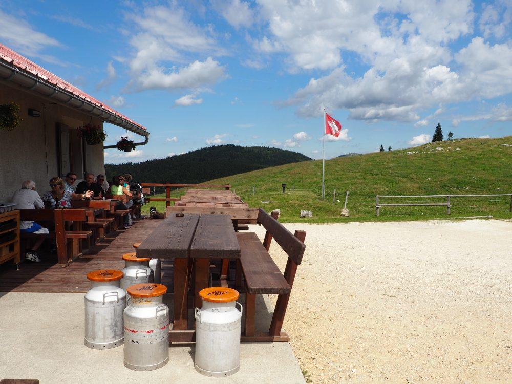 restaurant La Buvette Châtel Switzerland