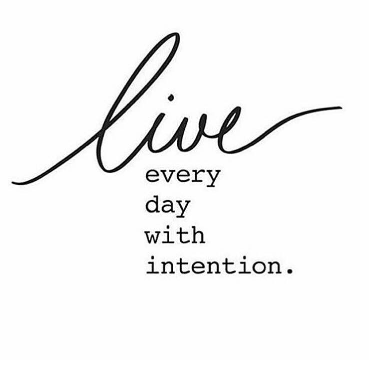 Live Everyday With Intention | The Red Fairy Project