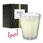 Favourite stress busting accessory: Nest grapefruit candle